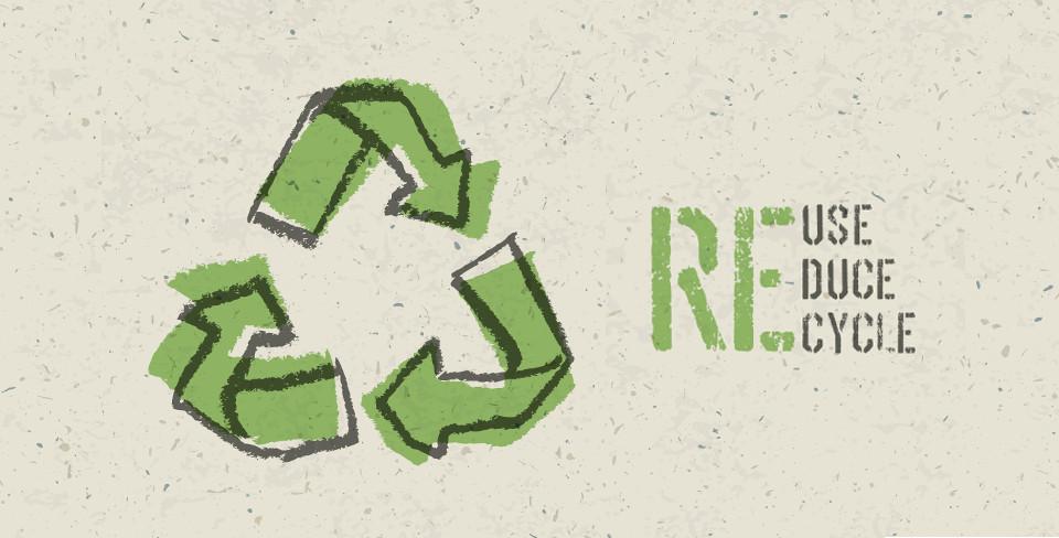 Riutilizza Riduci Ricicla Eco Rigenerati